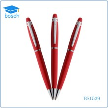 Factory price Business promotional metal pen, stainless steel present ball pen