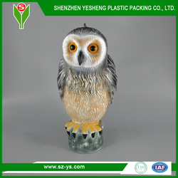 fack or replica owl hunting decoy repell pest bird