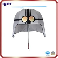 China clear umbrella hat umbrella hats cheap