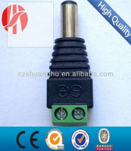 DC male power plug connector for CCTV CAMERA