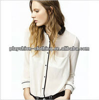Summer New Style Womens Chiffon Blouses For Women