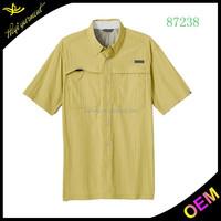 100% Fashion Casual New Design Men's Khadi Shirts