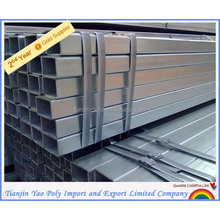 square hollow section galvanized steel pipes good manufacturer 45