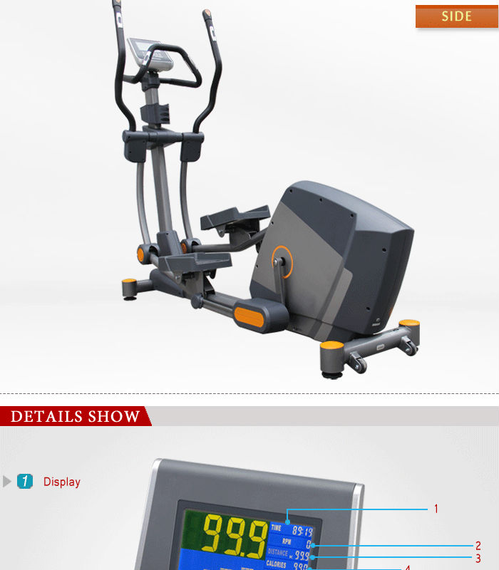 BCE203 Luxurious Commercial Elliptical trainer new design elliptical cycle