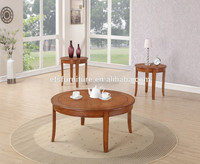 2014 antique dining room furniture solid wooden round sofa table set