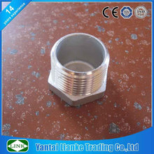 150lbs 304 stainless steel BSP /NPT threaded hex plug made in China