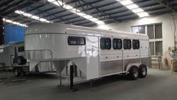 4 horse gooseneck trailer off road