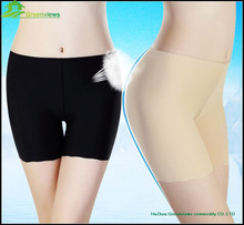 Women sexy control boyshort showing women panties high waist spandex polyester body shaper for fat women underwear GVMT0012