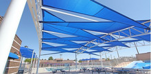 high quality decorative shade cloth