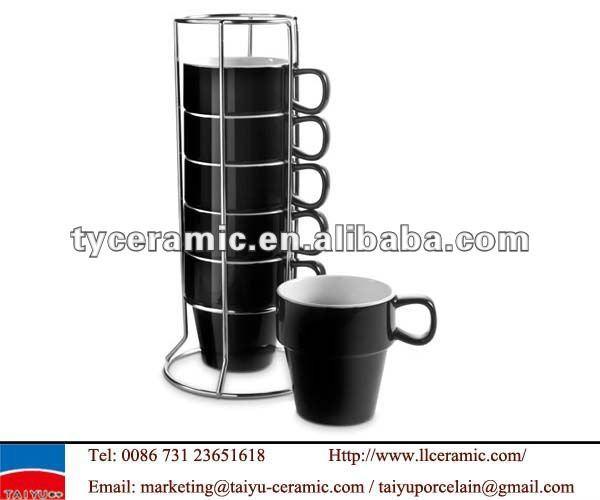 Stackable Coffee Mugs With Rack Stackable Coffee Mug Buy