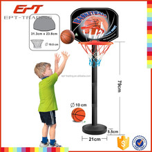 Exercise basketball basket with mini basketball nets