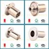 Shanghai OEM cnc spare parts cnc turning parts lathe machine parts