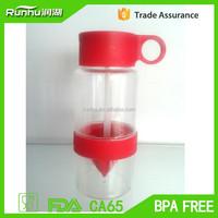 Sport protein shaker drink detox, plastic gym water bottle, energy drinking bottle RH212-500