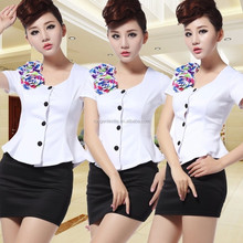 Hotel ladies uniform casual wear