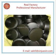 100mm large OEM plastic parts PP plastic pipe plug for office furniture