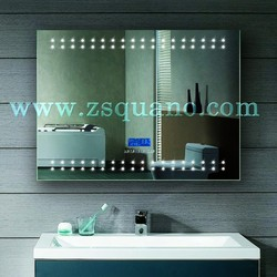 High Quality Vanity Backlit Mirror with Radio