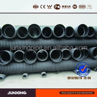 DN400mm HDPE double wall corrugated plastic pipe sizes