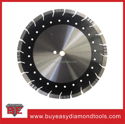 Laser welded 350mm new design diamond blade for general purpose