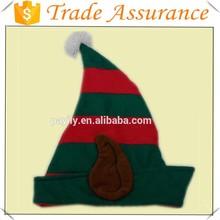 High quality children christmas crochet elf hats/christmas decoration