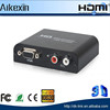 Video Converter VGA to HDMI Converter Adapter 1080p for PC HDTV w/ Power Adapter