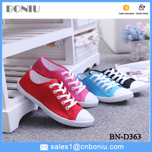cheap canvas shoes for lady casual canvas shoes