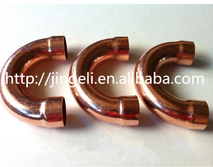 U bend pipe copper return bends fittings