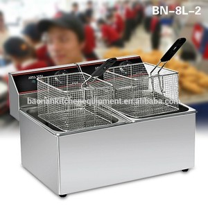 Freidora comercial para Funnel Cakes Corn Dogs y más BN-8L-2