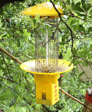 CE approved Crop safety AC electric insect trap with rain control for fruit fly pest repeller moth killer