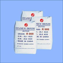 rutile titanium dioxide R909 (water based paint using high quality low price)
