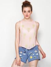 Runde wholesale printed chiffon summer maxi t shirt wholesale china t-shirt printing machine prices