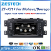 ZESTECH high quality HD Touch Screen car head unit for KIA Borrego/Mohave car dvd player with gps, fm/am, USB,SD,SWC