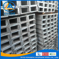 A36 SS400 S235JR Q235 Q345 Hot Rolled U Channel Steel Sizes