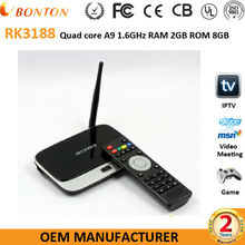 Android TV Box RK3188 Quad core TV Box XBMC DLAN Miracast Airplay Android Smart TV Box Amlogic S805 S812 Quad core