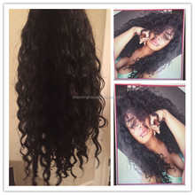 2015 New Style! Brazilian Loose curl Cheap Human Hair curly Full Lace Wig & Human Hair Lace Front Wigs Black Women