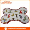 Hot Selling Printing Dog Bone Mat Products High Quality Pet Dog Cushion