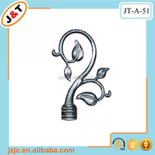 flexible thin shower metal curtain rod