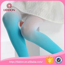 2015 new fashion children velvet gradient stockings pantyhose factory supply
