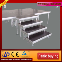 Modular Aluminum Adjustable Decent Stage For Stage Exhibition