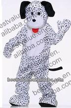 christmas hot popular dalmation dog cartoon Mascot costume animal funny performance mascot costumes