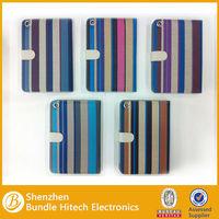 Factory wholesale slim-fit folio leather case for ipad mini, for mini ipad case