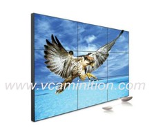 3x3 super narrow bezel 6.5mm seamless, 60 inch video wall with 700nits