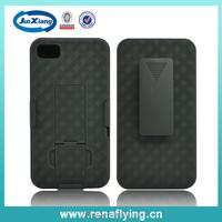Best Hotselling Holster Combo Case for Blackberry Z10 weave pattern
