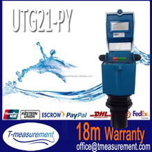 Utg21 - py de CE approuvé ultrasons capteurs de niveau de mazout huile de tournesol densité