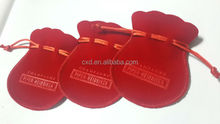 latest factory supply nice velvet fabric bags/camera