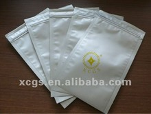 Three sides sealed plastic aluminum shielding bag, aluminum anti static bag