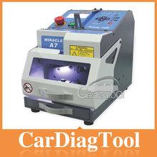 Hot car key cutting machine, laser key cutting machines, Miracle A7 key cutting machine used for all cars