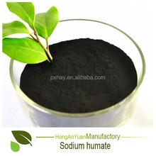 Soluble en sodio Humate polvo estado fertilizante de pescado usado en acuicultura