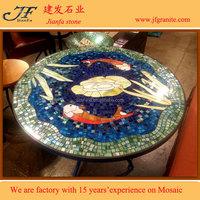 Popular Design Round Mosaic Table Patterns