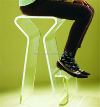 Fashionable clear acrylic sofa legs