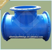 big size ductile iron tee/cross/bend/reducer
